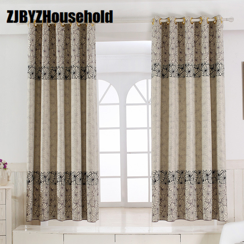 short window curtains printing curtain shading protection small 30893