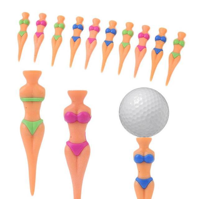 Relefree 5 шт. идеально подходят красивая модель телесного цвета крепление divot Инструменты шутка extra strong Гольф тройник мяч ногтей Спорт на открытом воздухе инструмент