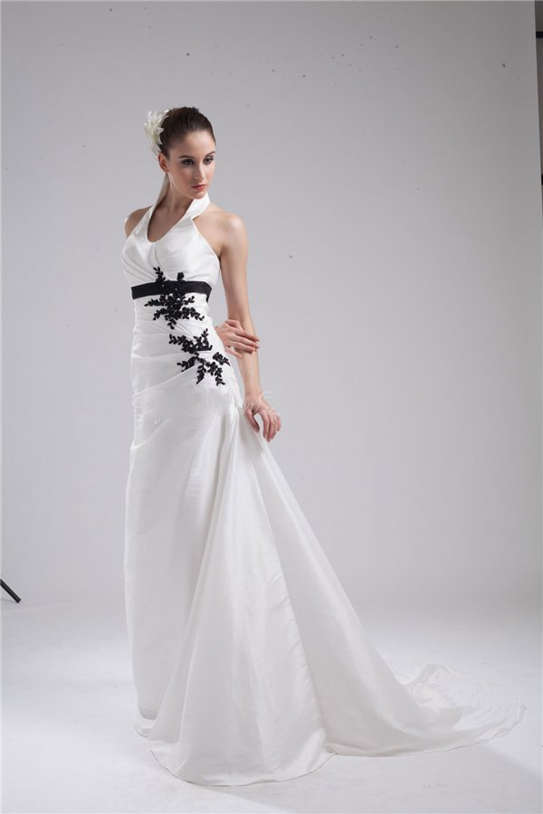 Increíble Superior De La Boda Vestido De Cabestro Ideas Ornamento ...