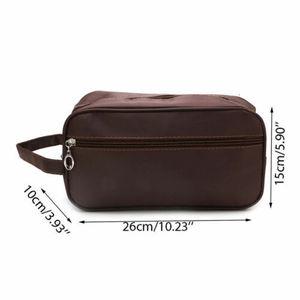 Image 2 - الولايات المتحدة الرجال النساء السفر المحمولة حقيبة مستحضرات تجميل غسل دش منظم ماكياج التجميل