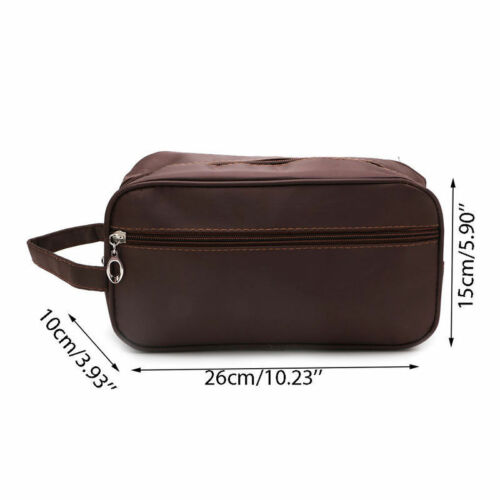 Image 2 - US Men Women Travel Portable Toiletry Bag Wash Shower Cosmetic Makeup Organizer-in Storage Bags from Home & Garden