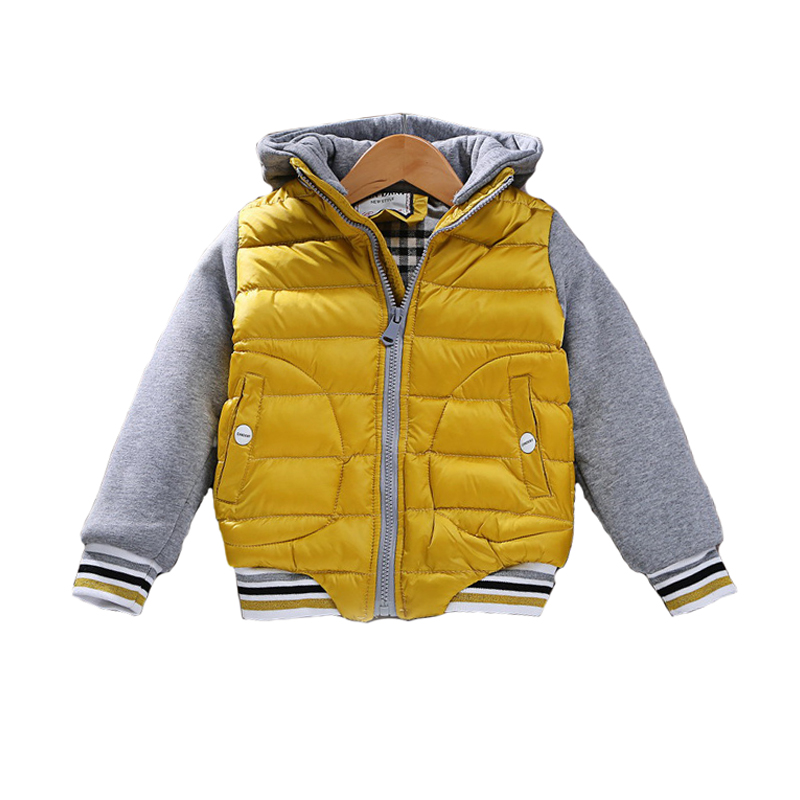 PluckyStar 2017 Fashion Winter Boys Coat Thicken Warm Children Boy Jacket Casual Hooded 3-7T Kids Baseball Outerwear Clothes J01 boys winter jacket cotton padded fur collar hooded long kids outerwear coat thicken warm boy winter coat children clothing