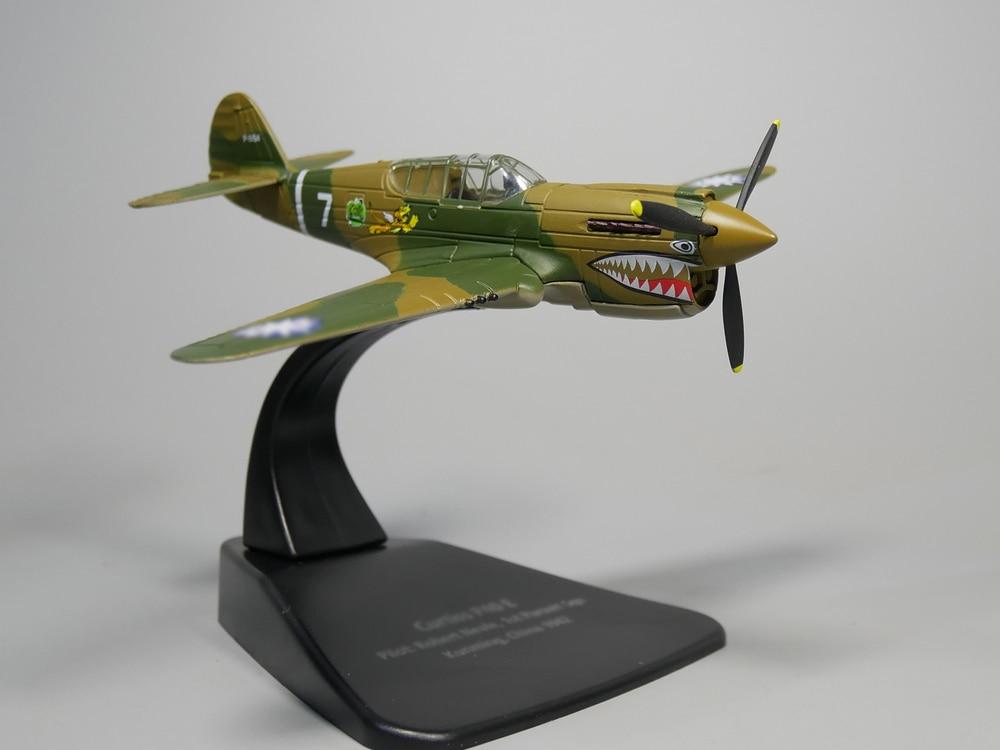 цена на Rare 1:72 P 40 E 1942 World War II aircraft model Alloy collection model