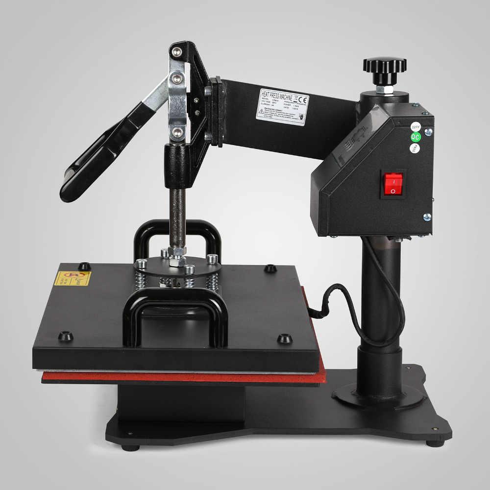 5 в 1 цифровой термопресс машина сублимации для футболки/кружки/плиты шляпа принтер