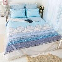 LILIYA 4 6Pieces Cotton Bedding Set Cozy Pillowcase High Quality Duvet Cover XM 11