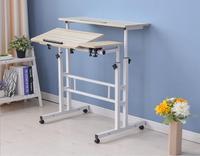 80*30 см два слоя все назначения самостоятельного ноутбук стол компьютерный стол офисные столы с мышью доска