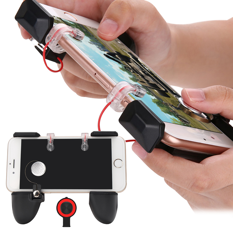 3 IN 1 Pubg Mobile Game Controller Gamepad Aim Key L1 R1