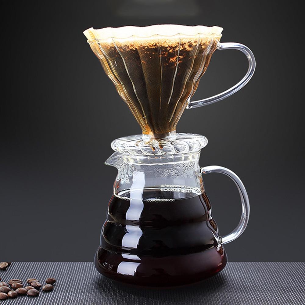 350 / 450/ 600ml Borosilicate Glass Coffee Maker Classic ...