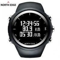 Gps часы Цифровой час Для мужчин цифровой наручные часы smart темп Скорость калорий бег трусцой Триатлон Пеший Туризм Водонепроницаемый NorthEdge