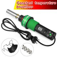 Heat Gun Constant temperature brushless 450 Degree Adjustable Electronic Heat Hot Air Gun 8019LCD 220V/110V with Four Nozzle