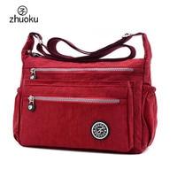 Women Messenger Bags High Quality Waterproof Nylon Shoulder Bag Female Handbag Beach Bag Bolsas 15 25