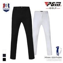 Новые зимние мужские уплотненные штаны для гольфа, длинные штаны для гольфа, мужские эластичные спортивные штаны, размер XXS-3XL