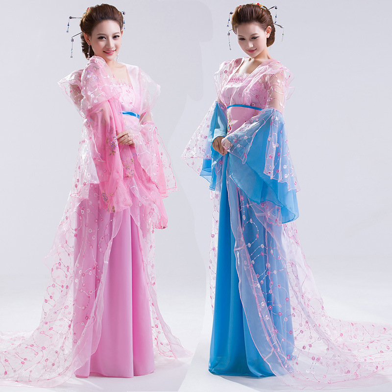 Women's Traditional Chinese Clothing Costume Clothes Fairy Tang Suit Hanfu Costume Fairies Dresses for Women Ancient Dress summer dresses styles chinese cheongsams for girls traditional chinese dress for children tang suit baby costumes