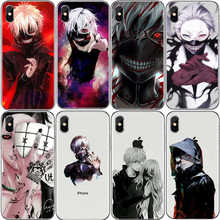 Japan anime Tokyo Ghoul Japan Case For iPhone XS MAX 6 6s 7 8 Plus lil xan Xxxtentacion For iPhone X 5s SE XR Hard plastic case(China)