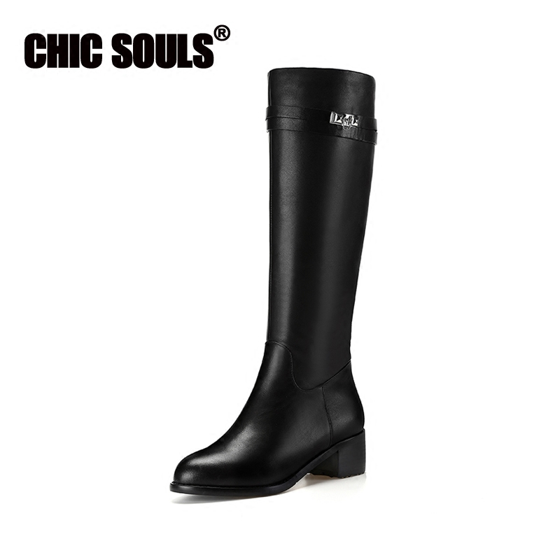 a7f6214683 Discount Winter Womens Knee High Boots Genuine Leather Slim Long Boots Sexy  Coffee Handmade High Heel Boots Lace Up Warm Fur-in Knee-High Boots from  Shoes ...