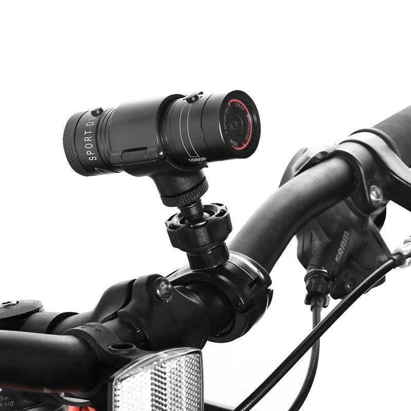 Nouveau Camere Photo F9 Full HD 1080 P étanche vélo moto casque extérieur voyage sport Action caméra vidéo DV Mini caméscope