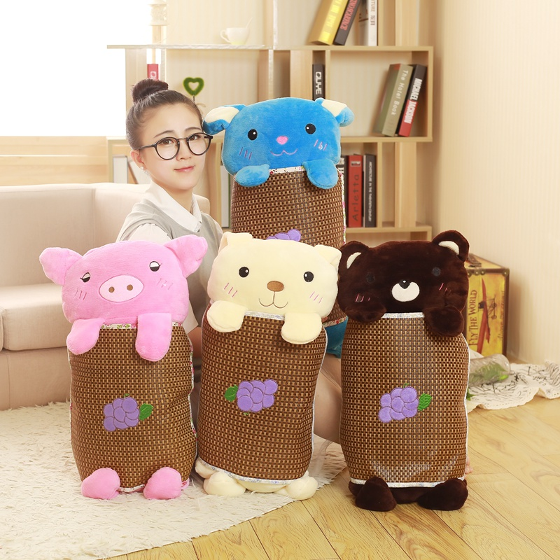 Many Color To Choose Cartoon Long Pillow Doll Office Cushion Gift Lovely Fashion Kid Girl Gift House Decoration Good Price A-141 fashion house