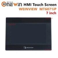 Weinview/weintek mt6071ip hmi 터치 스크린 7 인치 800*480 usb 이더넷 새로운 인간 기계 인터페이스 교체 mt6070ih5 mt6070ip