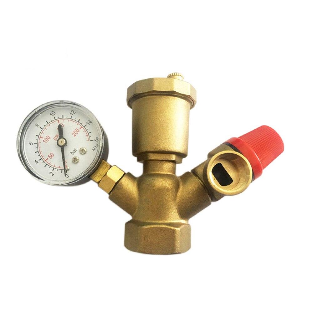 Латунь клапан котла DN25 всеобъемлющем безопасности Давление предохранительный клапан с Давление датчик безопасности котла компонент