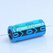 6pcs 18*41mm Axial Electrolytic Capacitor 47uf 450V Tube Vintage Amp DIY