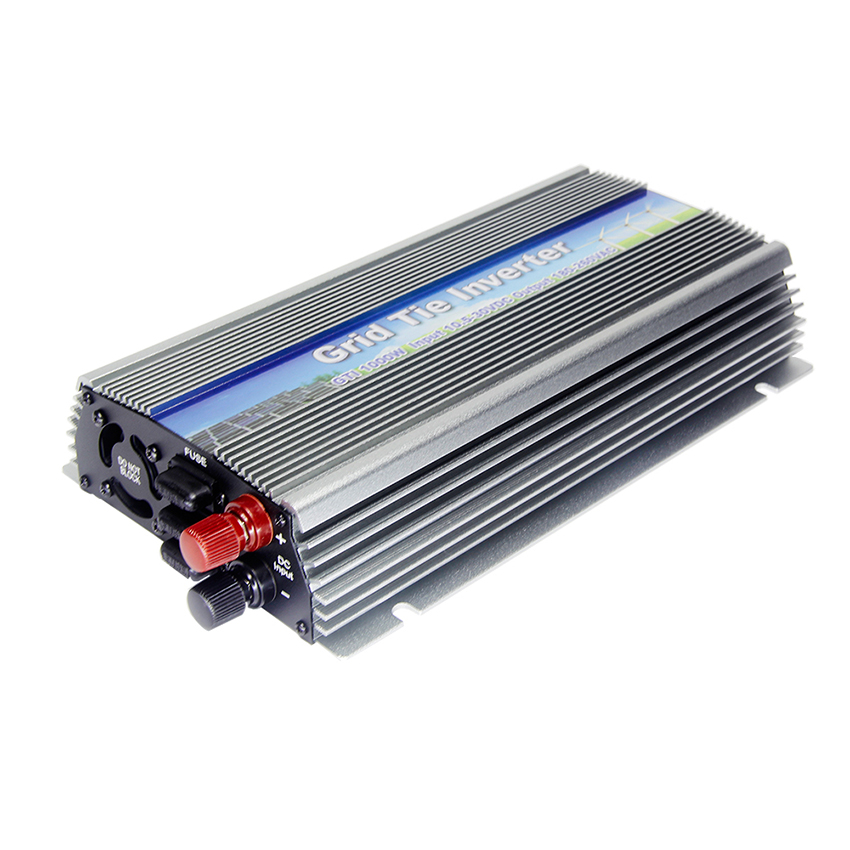 MAYLAR@ 22-50VDC 2PCS 1000W Pure Sine Wave Solar On Grid Inverter,Output 90-140VAC.Grid Tie Inverter For Home Alternative Energy maylar 22 60v 300w solar high frequency pure sine wave grid tie inverter output 90 160v 50hz 60hz for alternative energy