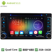 Quad Core 16GB 2Din WIFI 3G Android 5.1.1 DAB+ FM BT RDS Car DVD Player Screen Audio Radio Stereo For Forester Impreza 2008-2013