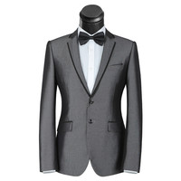 Suit Jackets wedding Jacket men's suit male occupation business suits slim Groomsman Men Jacketsuits tuxedo men blazer dress
