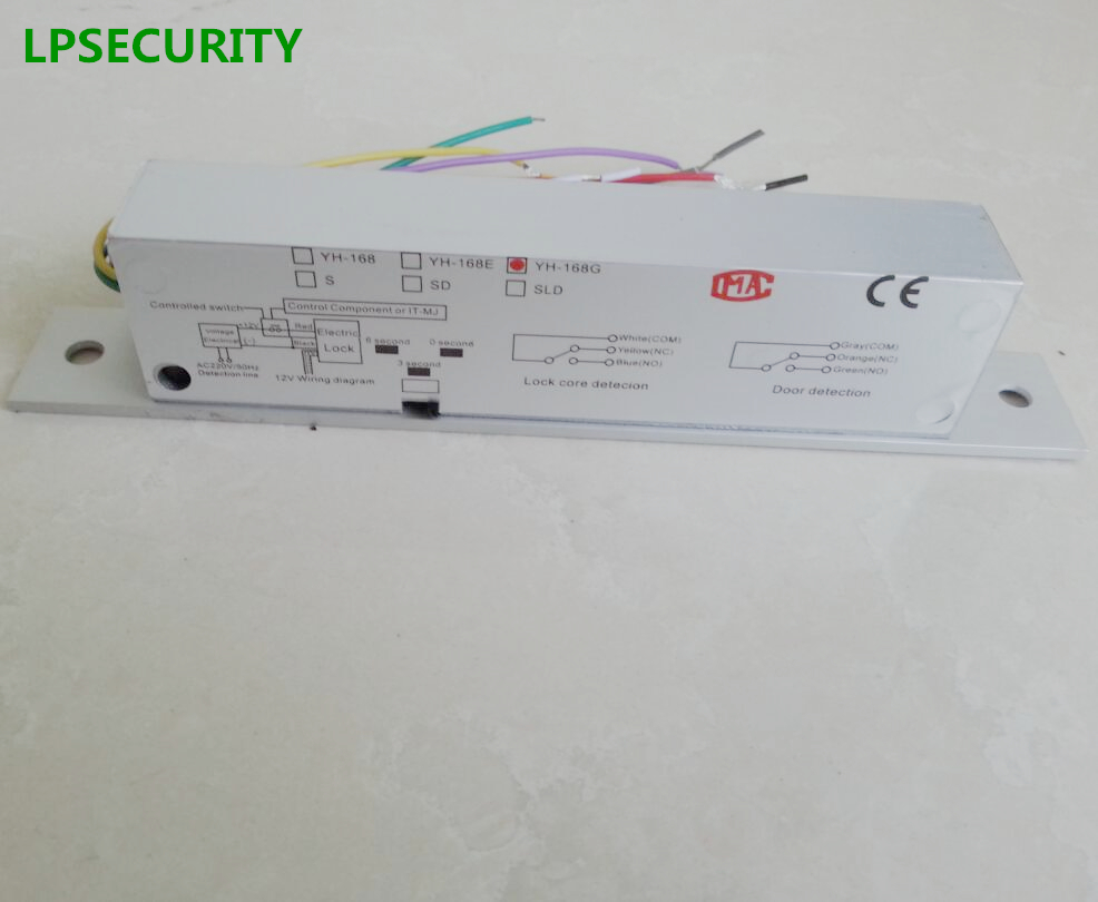 LPSECURITY Fail Safe DC12V Riegel Elektroriegel Stecker Schmale ...