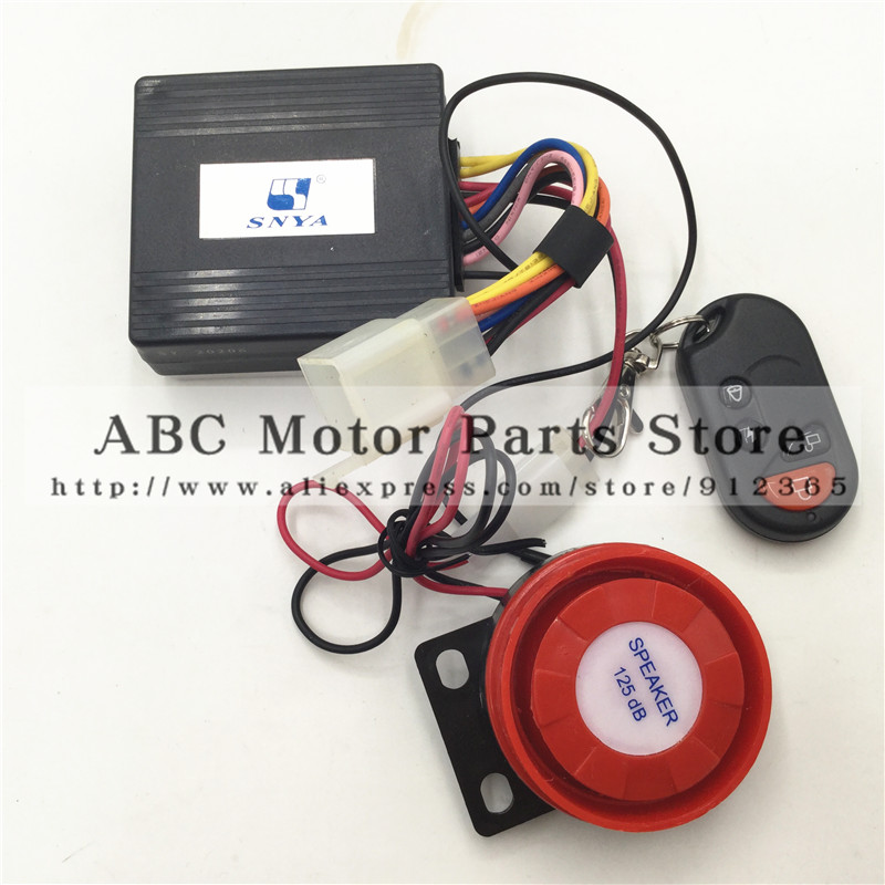 12V Electric Car Alarm Siren Genuine Sports Zuma Karting ATV Motocross Bodyguard Pedal With Remote Control