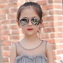 Arrow Kids Sunglasses 2016 New Fashion Korean  Retro Round Frame Glasses For Children