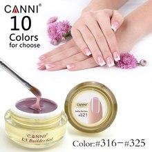 #50951 canni профессиональный 25 цветов nail art полу и твердый прозрачный камуфляж желе плотно уф-жесткий builder расширить стенд гели(China (Mainland))