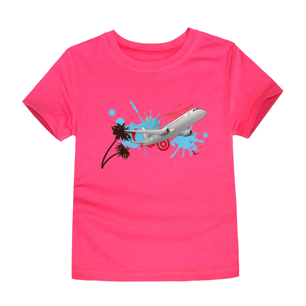 HTB1YMFHQVXXXXa3XVXXq6xXFXXX4 - CHUNJIAN 2017 children t shirts for girls boys cotton t shirt girls T-Shirt kids t shirts summer Tops & Tees kids plane shirt