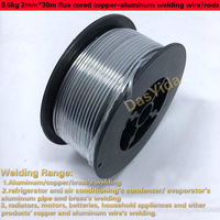 1 roll 0.5kg 2mm*30m low temperature flux cored copper aluminum welding wire/rods