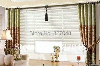 Dekorativer Raumteiler   FREIES VERSCHIFFEN Populäre Zebra Jalousien/hängenden Screen Zimmer Kluft/double-layer-rollos/vorhangstoff Vorhang Fenster Vorhang
