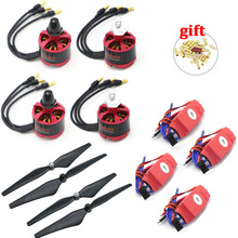 4 Set 2212 920KV CW CCW Brushless Motor + 30A Simonk ESC w/ 5V 2A BEC + 9450 Prop for F450 F500 F550  Phantom 2 3 Drone jmt gps apm2 8 flight control 30a esc bec 920kv brushless motor 9450 propeller for 4 axis diy gps drone