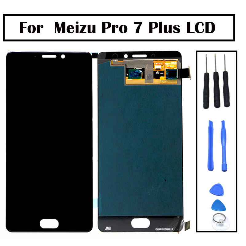 New 5.7 LCD Screen Meizu Pro 7 Plus LCD Display Touch Screen Digitizer Full Assembly 1440 x 2560 Meizu Pro 7 Plus LCDNew 5.7 LCD Screen Meizu Pro 7 Plus LCD Display Touch Screen Digitizer Full Assembly 1440 x 2560 Meizu Pro 7 Plus LCD