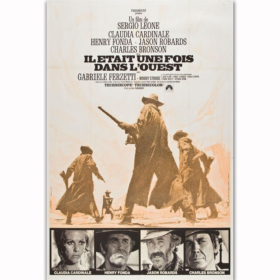 Once Upon A Time In The West Western  Movie Film Poster Print Picture A3 A4