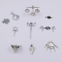 8pcs/set Yu Gi Oh Eight Artifact Action Figure zexal Collectible Toys 4 10cm YuGiOh Necklace Keychain Model toys