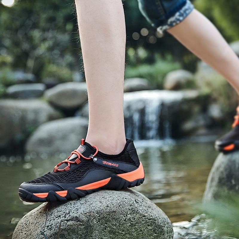 Extérieure Sneakers Tenis Hommes Homass green Gray Fly Liste orange Printemps Automne Chaussures Tissage Pour Casual wvwCzqxg4