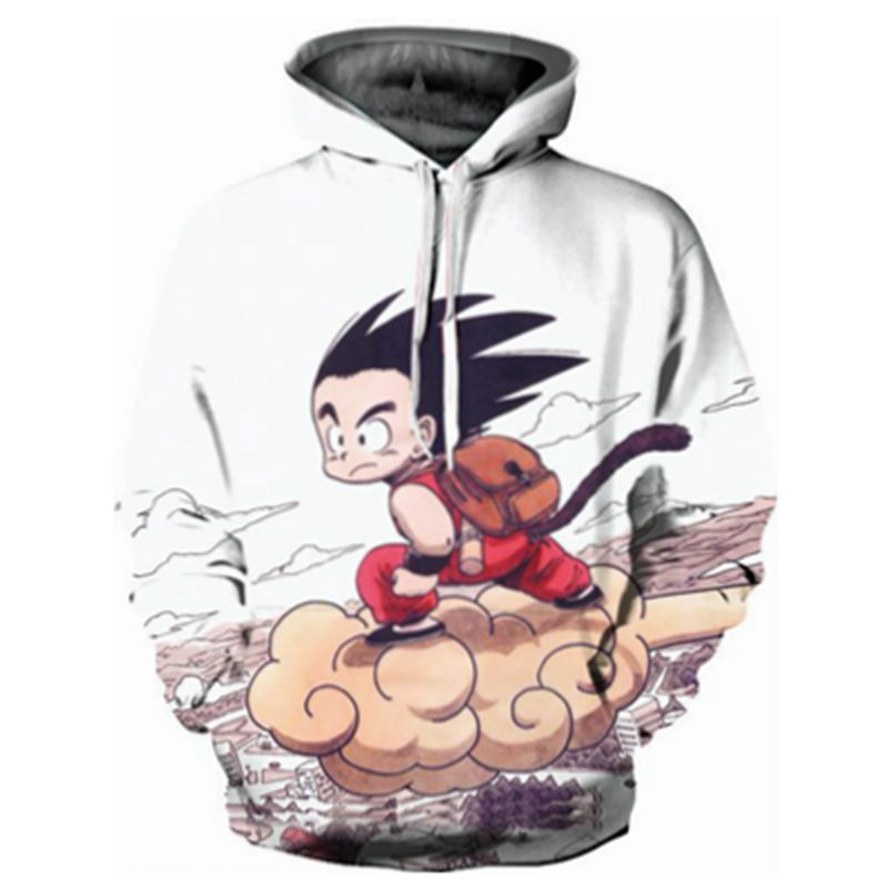 CFYH New Fashion Cool sweatshirt Hoodies Men women 3D print Funny Dragon Ball Z Goku Hot Style Streetwear Long Sleeve Clothes