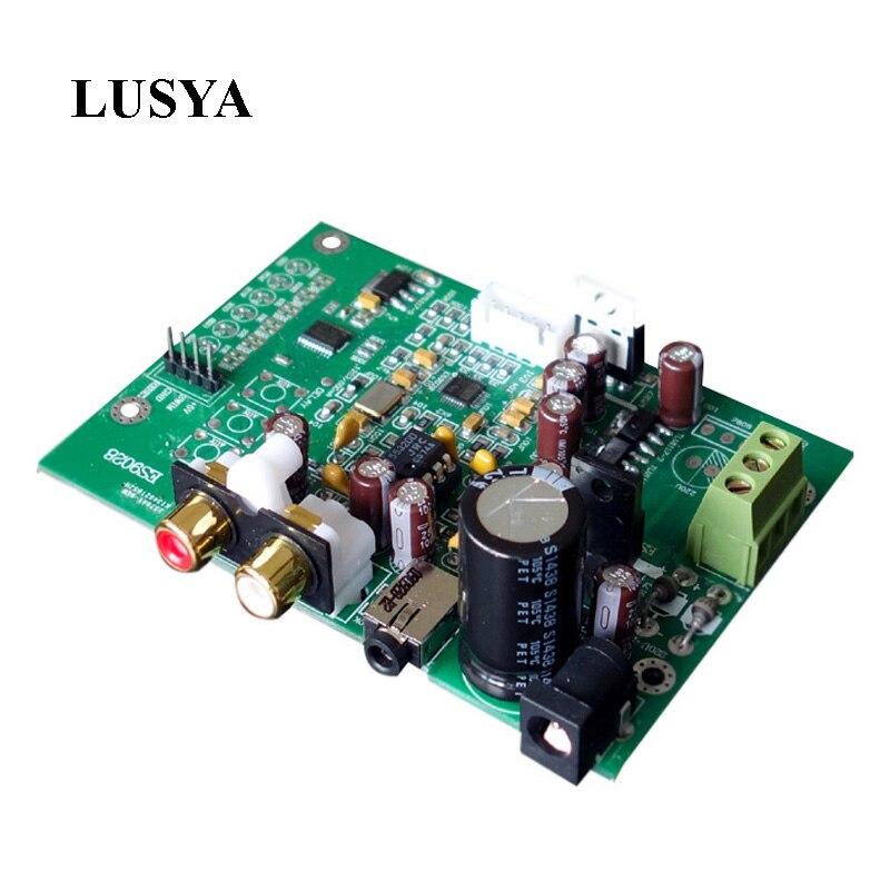 Lusya ES9028Q2M ES9028 I2S D'entrée Carte de Décodage Moulin DAC Mise À Niveau ES9018 amplificateur bricolage DSD IIS-32bit 384 K/DSD64 128 256 512 F9-004