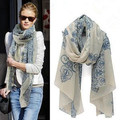 fashion Totem female Korean version of the new chiffon and cotton scarf shawl clothing leopard ,Wholesale !