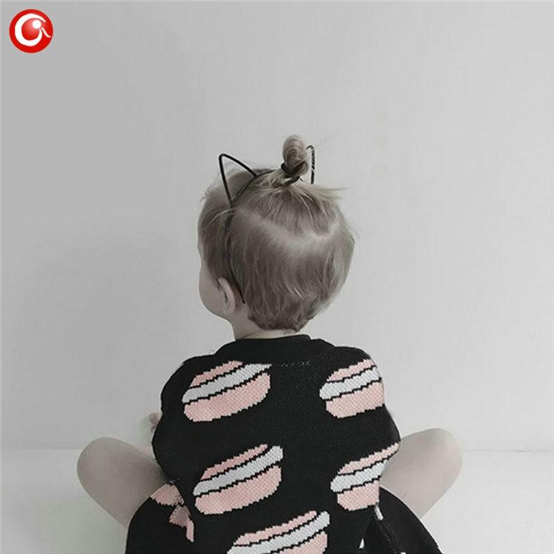 12M-4T AutumnWinter Children Girls Cardigan Fashion Cotton Kids Boys Sweater Baby Knit Open Stitch Jumper Clothes For Christmas (4)