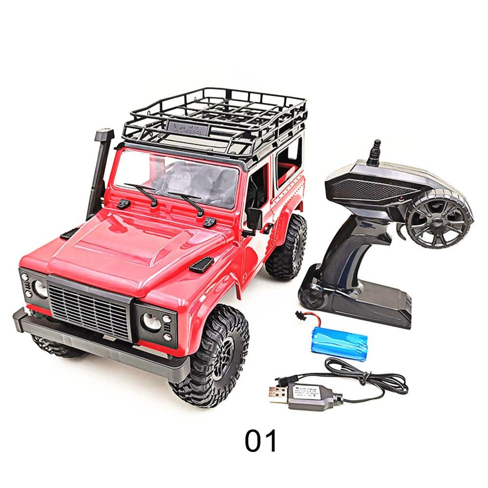 1/12 échelle RC voiture télécommande camion jouet MN-90/D90 pick-up voiture pour enfants adultes YH-17 - 2