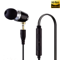 SUR 520 DIY Deep Bass HIFI Earphone Professional Music Earphone Earbuds For Xiaomi Sony Huawei Android