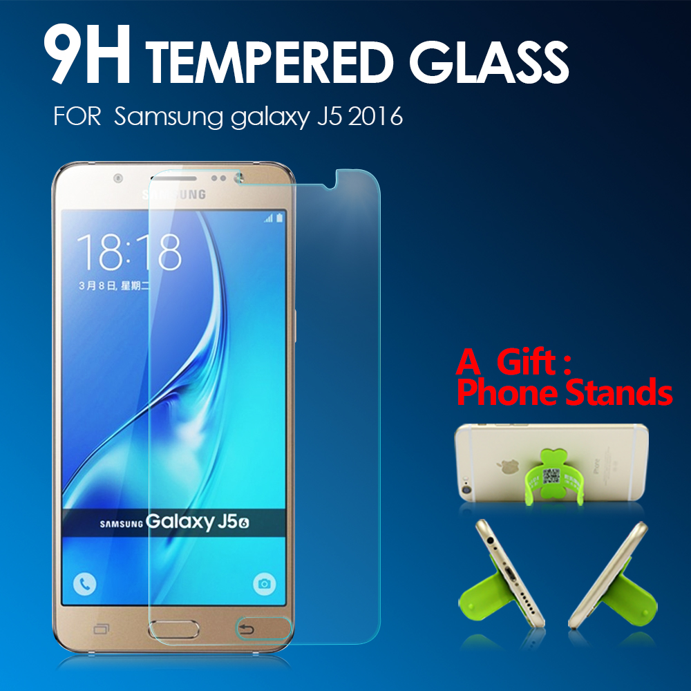 Tempered Glass Screen Protector for Samsung Galaxy J5 2016 J510 9H 2.5D 0.33mm Anti Scrach Protective Glass Film for Sam J5100 ...