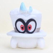 Супер Марио bros Odyssey шапки Cappy mario bros Плюшевые игрушки мягкие куклы для рождественских подарков
