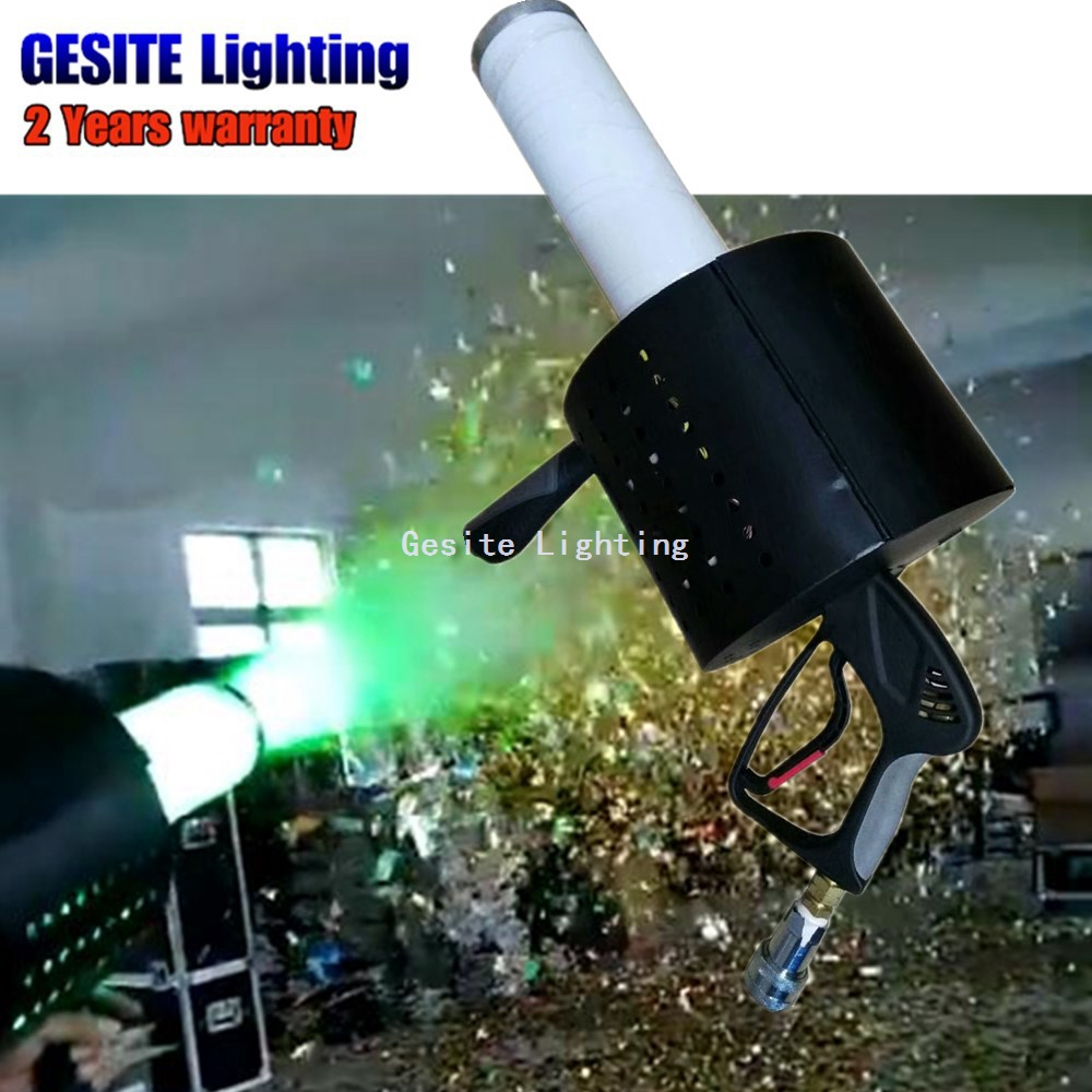New stage special effect product Gatling LED CO2 confetti gun