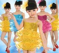 Children's costumes performance clothing stage clothing modern dance clothes children Latin dance sequined veil do90