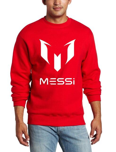 Осень бренд барселона МЕССИ фитнес мужчины толстовка уличная стиль толстовки спортивные костюмы бренда верхней одежды harajuku пуловеры